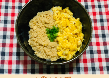 そぼろ丼レシピ 簡単 画像